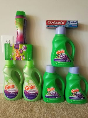 Gain laundry detergent bundle - $30 not negotiable for Sale in Rockville, MD