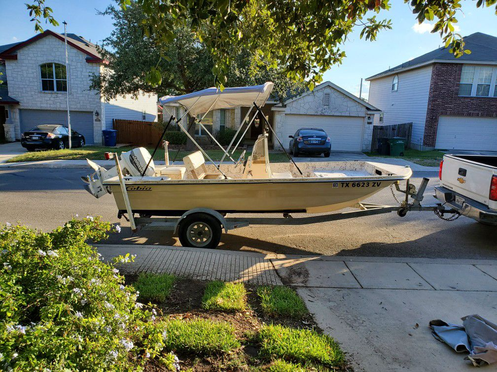 Photo cobia sunskiff 16 ft with accessories