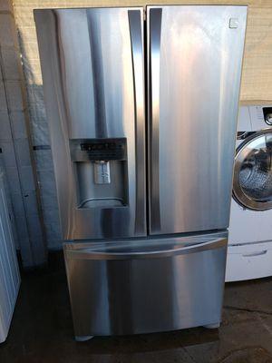 Photo Refrigerator kenmore élite french door stainless steel