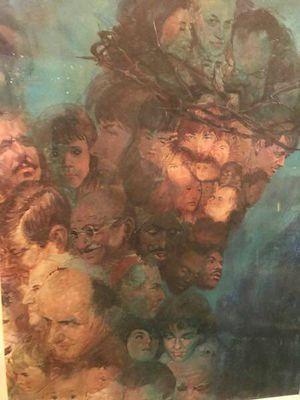 In His Image framed print Jesus - $25 (Reston) for Sale in Reston, VA