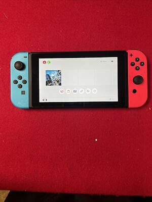 Nintendo Switch 32GB Neon Red/Neon Blue Console UNPATCHED
