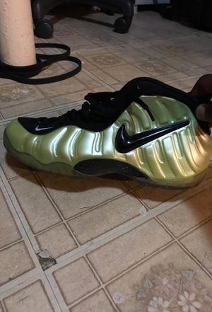 Electric Green Foams size 9 for Sale in Washington, DC
