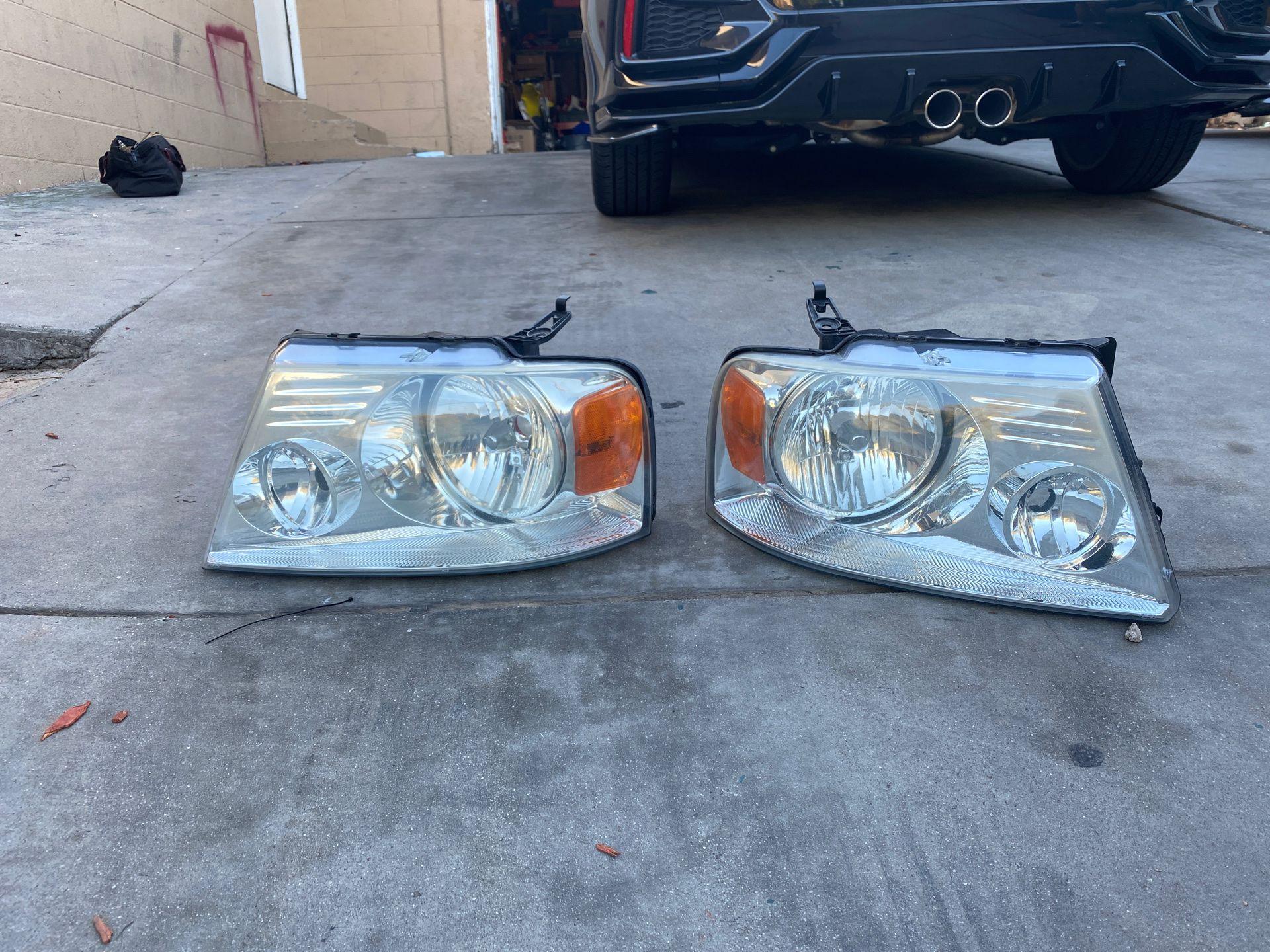 F 150 ford 2008 head lights