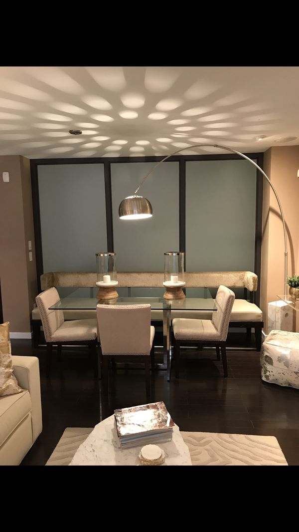 West Elm Glass Dining Table for Sale in MIDDLE CITY WEST, PA - OfferUp