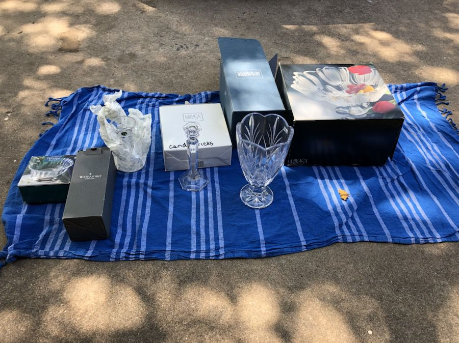 Lot of Crystal Ware