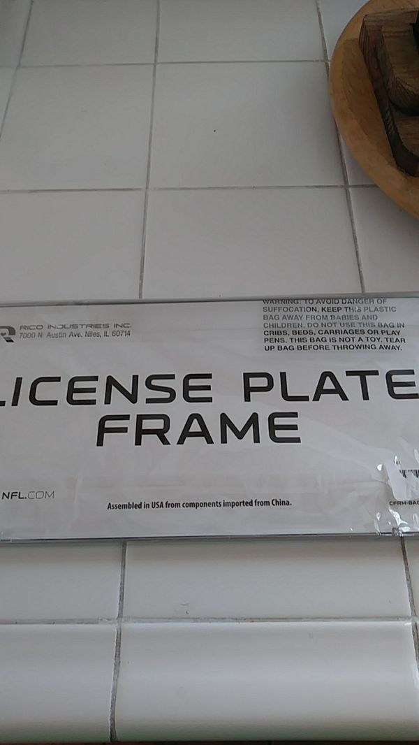 San Francisco 49ers license plate frame (Sports & Outdoors) in San ...