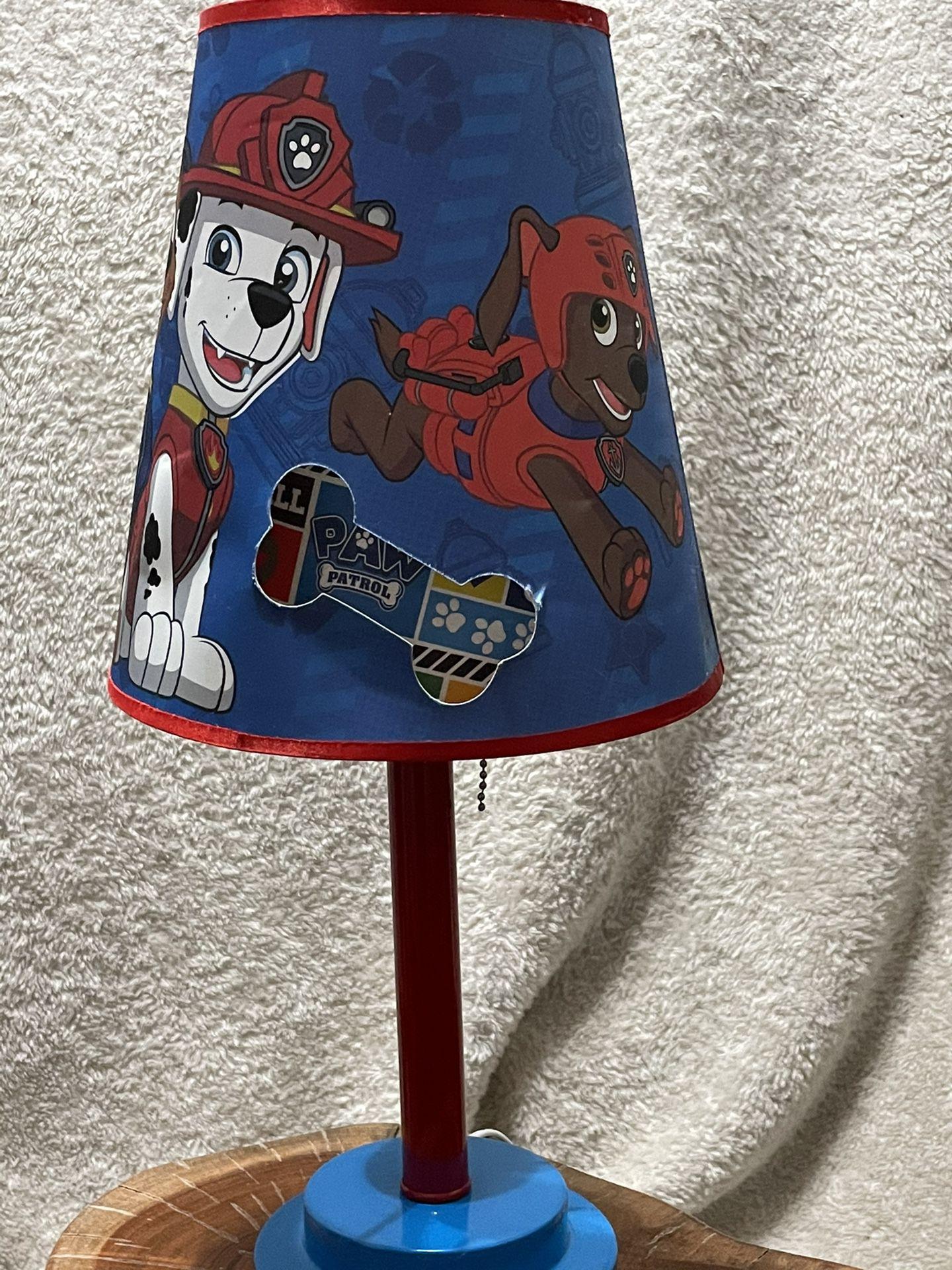 PAW PATROL  BEDSIDE LAMP
