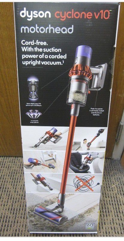 dyson cyclone v10 motorhead cordless for sale in san jose ca offerup. Black Bedroom Furniture Sets. Home Design Ideas