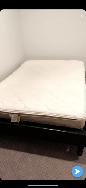Full mattress and bed frame for Sale in Ashburn, VA