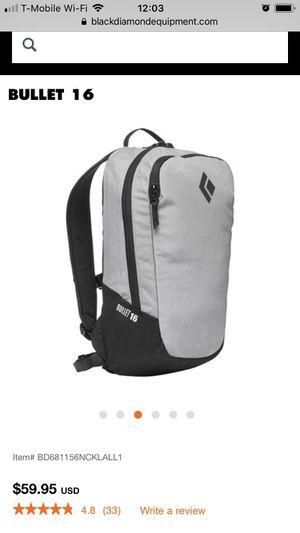 Black Diamond Bullet 16 backpack for Sale in Arlington, VA