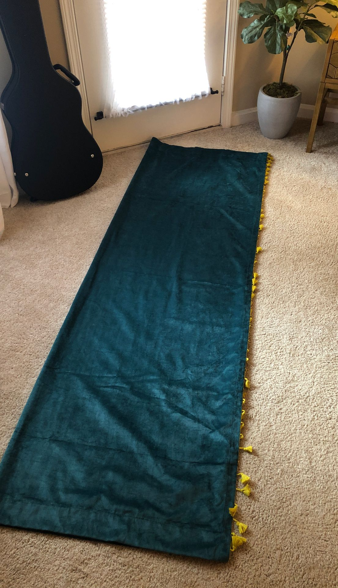 Opal house curtain panels, set of two