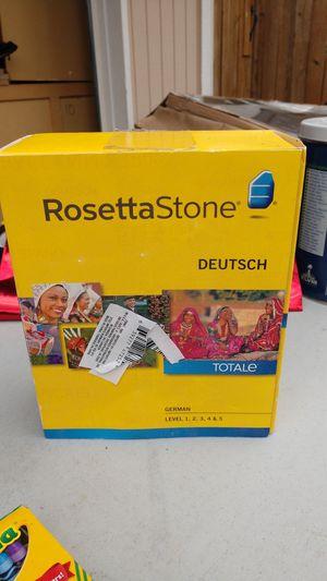 Rosetta Stone German for Sale in Olympia, WA