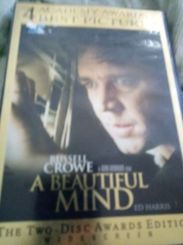 A Beautiful Mind DVD Movie Household In Oxnard CA