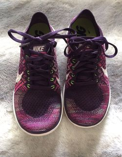 Nike flyknit purple woman 8 Thumbnail