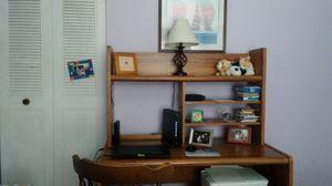 Oak computer desk for Sale in South Park Township, PA