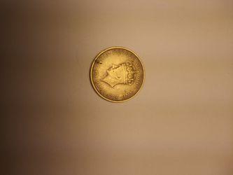 1937 Jamacia One Penny Thumbnail