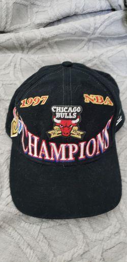 1997 Bulls NBA Championship hat Thumbnail
