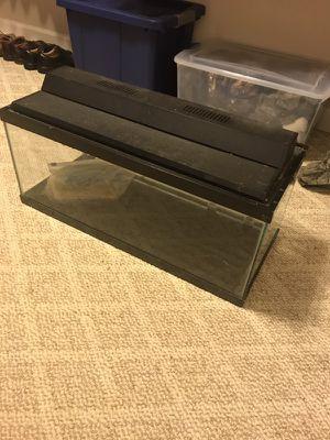 20 gallon tall fish tank for Sale in Huddleston, VA