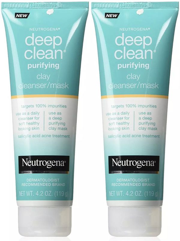 Deep Clean Purifying Clay Mask & Cleanser by Neutrogena #8