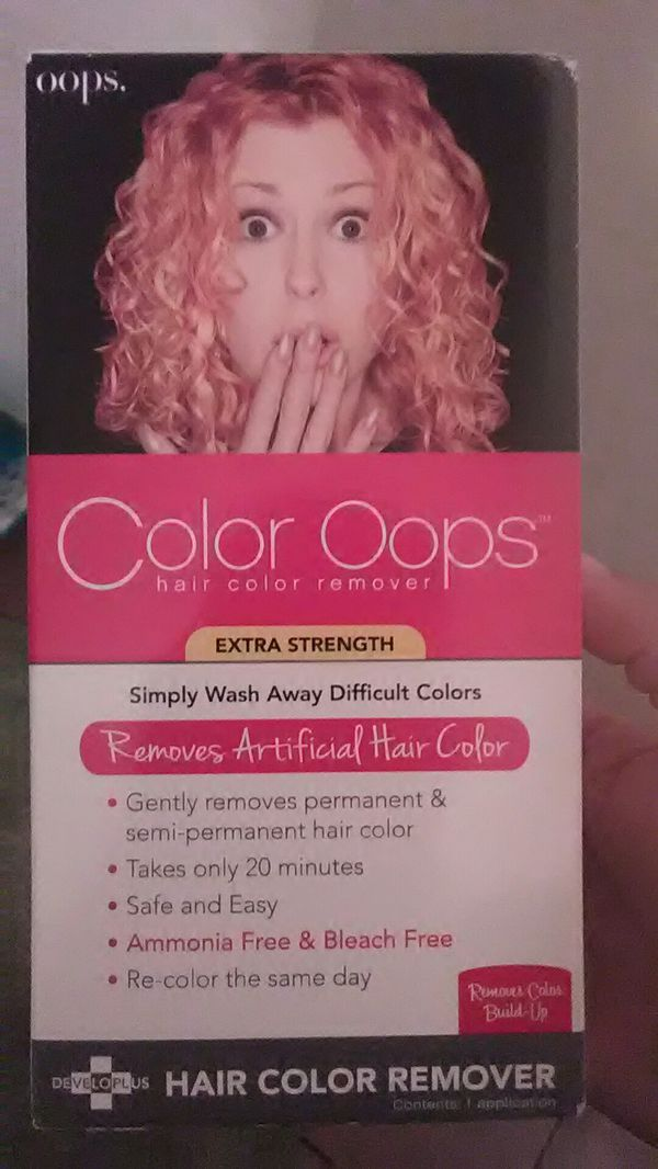 Color Oops Hair Color Remover 9 For Sale In Phoenix Az Offerup