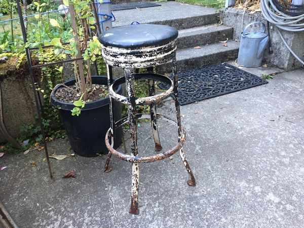 Fabulous Vintage Metal Stool 25 For Sale In Snohomish Wa Offerup Forskolin Free Trial Chair Design Images Forskolin Free Trialorg