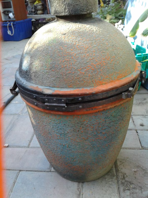 Vintage Kamado Japanese Smoker Grill For Sale In Rodeo Ca