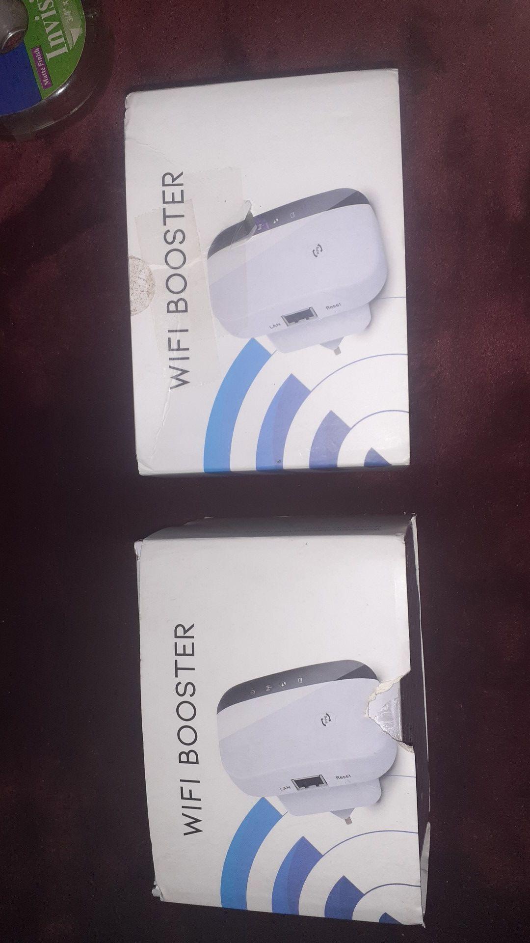 2 WIFI Boosters
