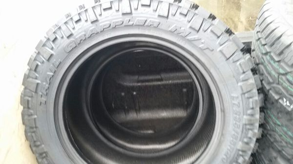 Nitto Terra Grappler Mt >> 285 55r20 New Nitto Trail Grappler Mt Tires For Sale In Enumclaw