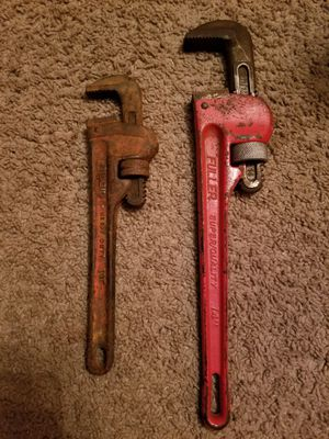 "Pipe Wrench 14"" and 10"" for Sale in Laurel, MD"