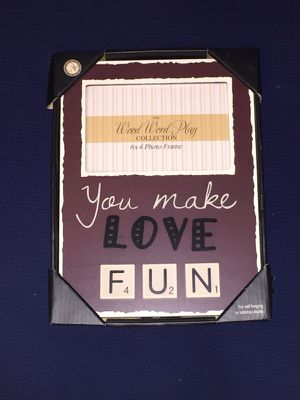 "Black Wooden picture frame 11"" x 8"" for Sale in Houston, TX"