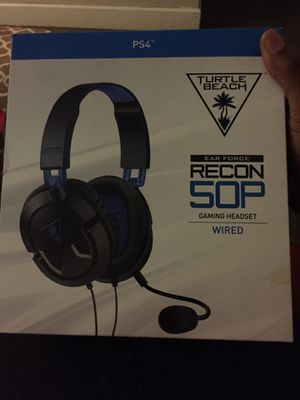 PS4 game headset (only for a PS4) for Sale in Washington, DC