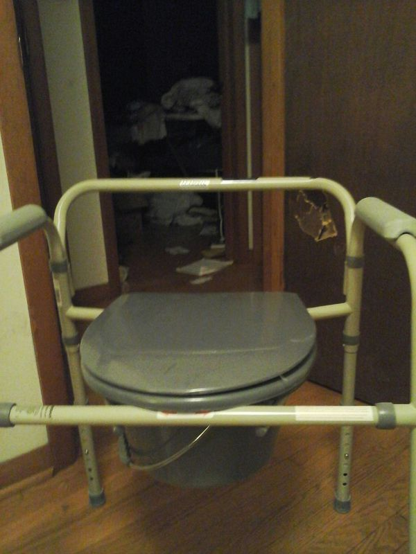 Guardian 3 in 1 commode never used if so e one is in need im a care ...