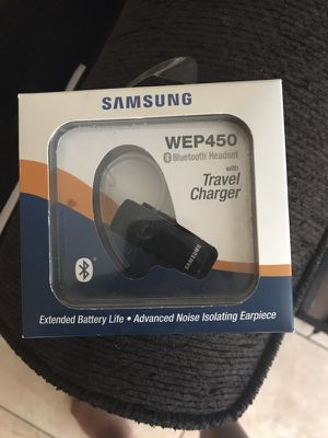 Bluetooth headset and universal Samsung charger. for Sale in Phoenix, AZ