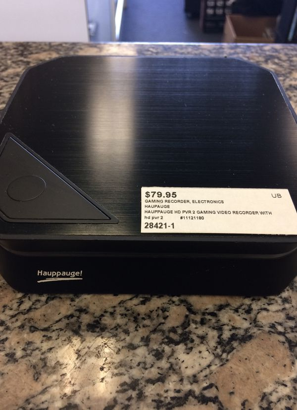Hauppauge HD PVR 2 Gaming Recorder for Sale in West Covina, CA - OfferUp