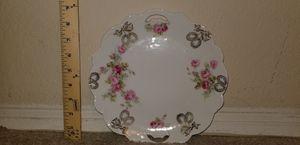 Vintage Rose & Gold Grapes Motif Decorative Plate for Sale in Woodbridge, VA