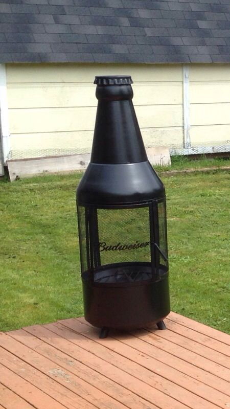 Budweiser Beer Bottle Fire-Pit for Sale in Port Orchard ...