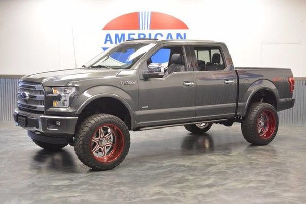 Ford F  Fox Suspension Lift  Wheels Tires  In Extras Platinum Edition Lthr Navi Full Glass Sunroof Like New Auto Parts