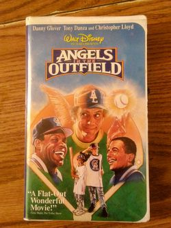 Walt Disney Angels In The Outfield VHS Thumbnail