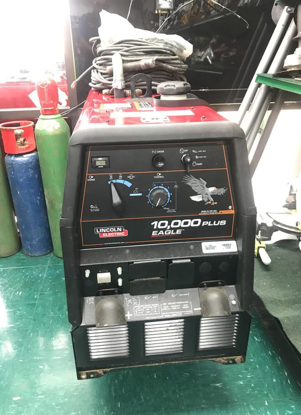 Lincoln Electric 10 000 Plus Eagle Welder Generator