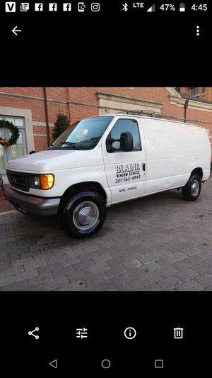 2007 Ford E350 cargo van powerstroke diesel 148k mostly highway miles for Sale in North Bethesda, MD