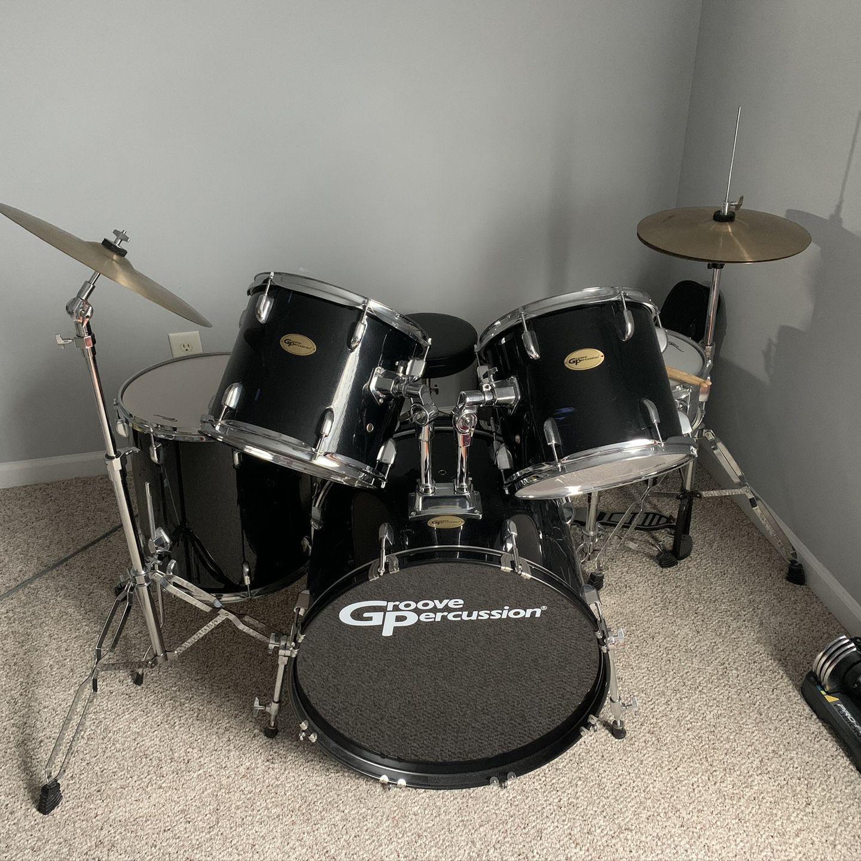 Groove Percussion Drum Set