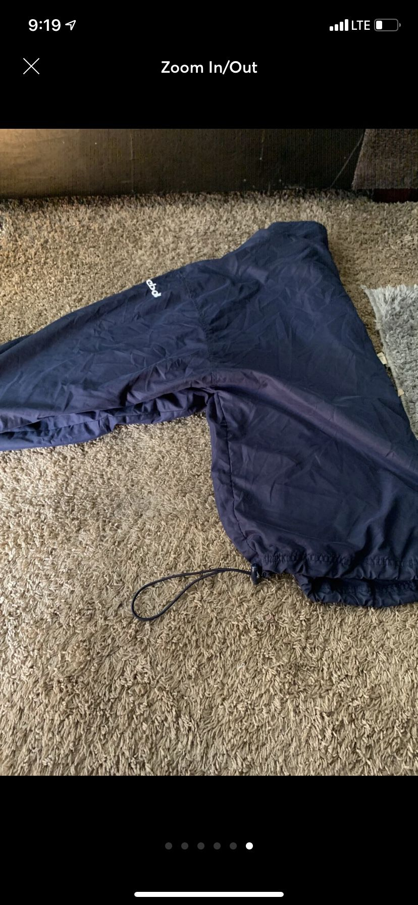 Vintage Reebok jacket sz m in good condition