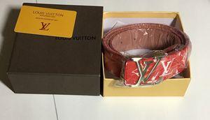 Louis Vuitton X Supreme Belt for Sale in Wheaton, MD