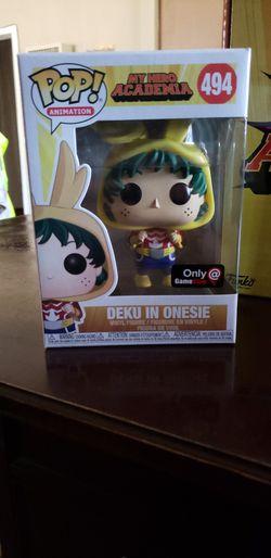 Funko POP Deku In Onesie Gamestop Exlusive Thumbnail