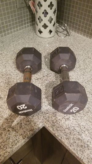 Reebok 20 lb. Weights for Sale in Orlando, FL