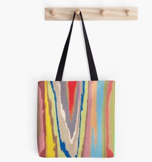 Graff Street POP Art Canvas Painting Graffiti Abstract Acrylic Tote Bag for Sale in Juno Beach, FL