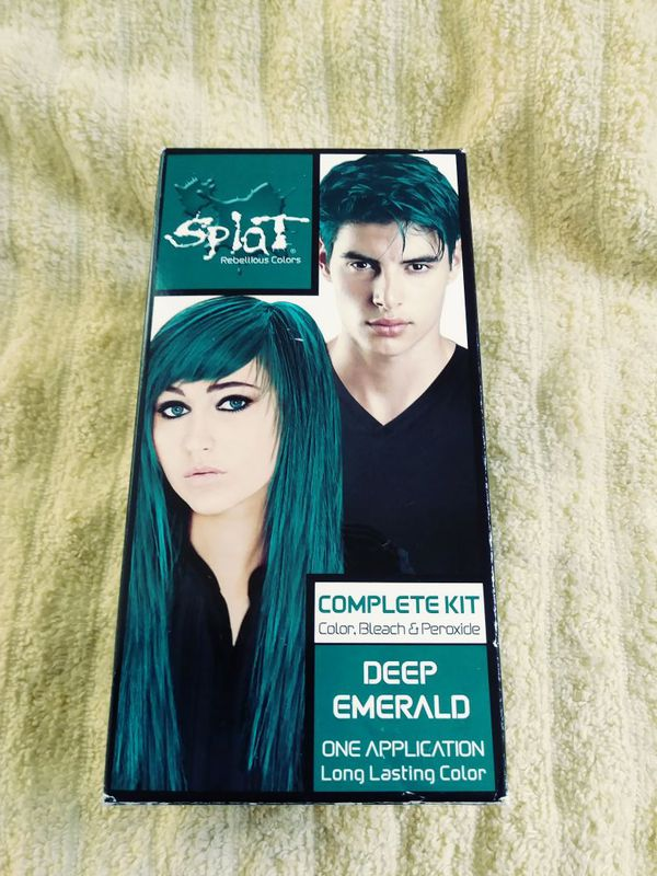 Splat Deep Emerald Hair Color Set For Sale In Los Angeles Ca Offerup