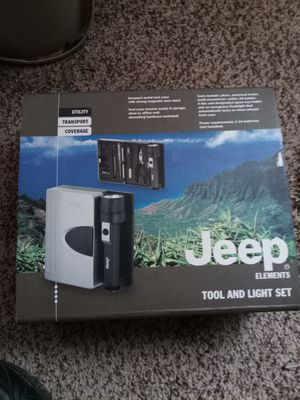 Jeep element tool and light set brand new for Sale in Waldorf, MD