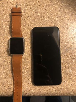 Apple Watch & IPhone 7 for sell parts only unless u can get into them price open for Negotiation for Sale in Glenarden, MD