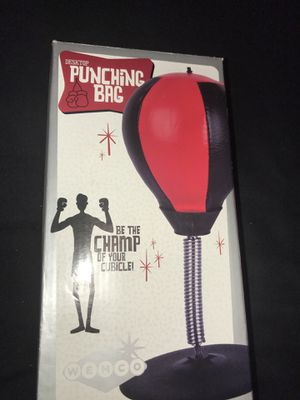 Punching bag desktop for Sale in San Diego, CA